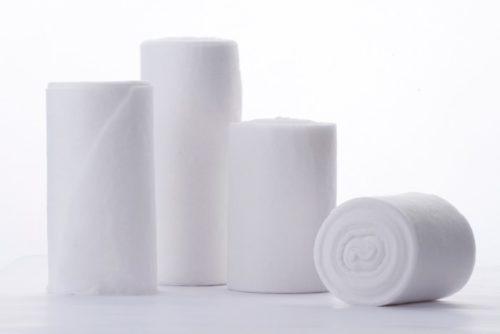 vendas de algodón